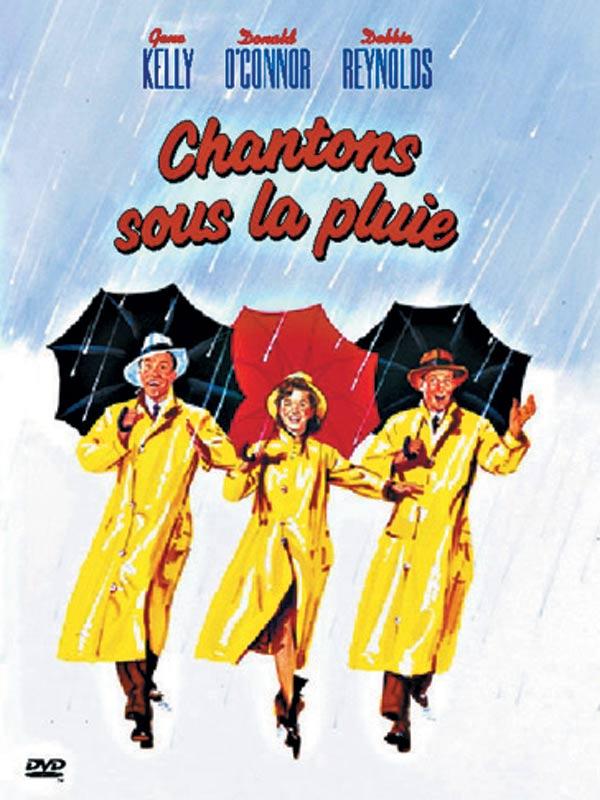 Chantons sous la pluie affiche