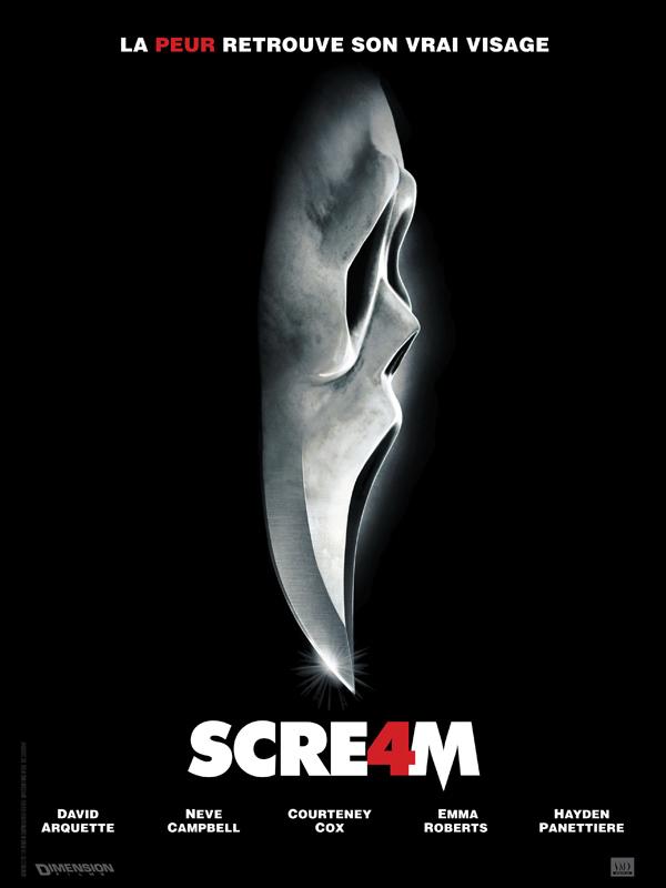 Scream 4 affiche