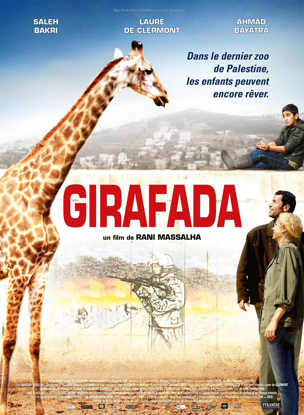 Girafada : Affiche