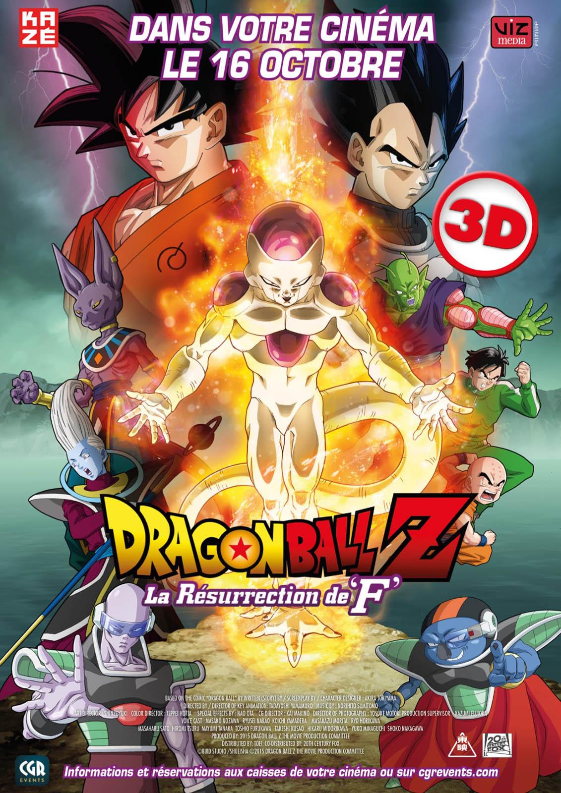 Regarder film Dragon Ball Z - La Résurrection de F