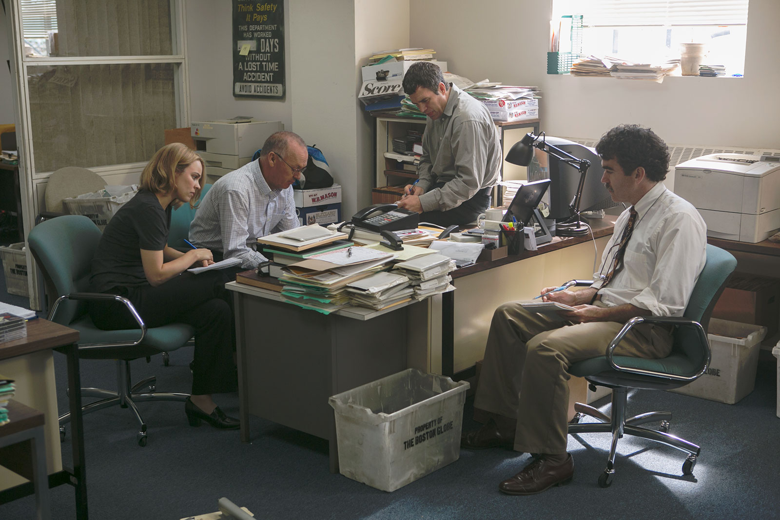 Spotlight - Rachel McAdams, Brian d'Arcy James, Mark Ruffalo, Michael Keaton,