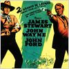 L&#39;Homme qui tua Liberty Valance : Affiche James Stewart, John Ford, John Wayne