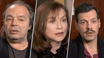 """Elle - Isabelle Huppert, Laurent Lafitte, Philippe Djian : """"On est dans une espèce de réalité tordue"""""""