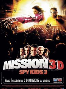 Mission 3D Spy kids 3 streaming