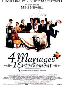 Quatre mariages et un enterrement streaming