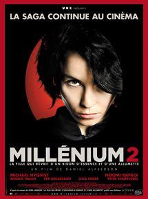 Millénium 2 – La Fille qui rêvait d'un bidon d'essence et d'une allumette streaming