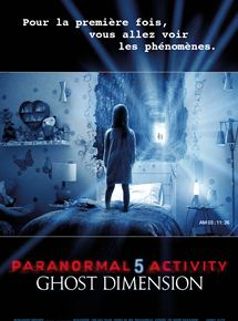 Paranormal Activity 5 Ghost Dimension streaming