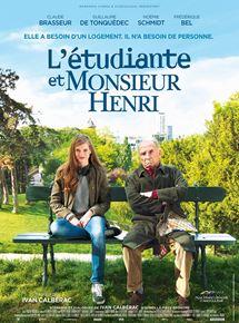voir L'Etudiante et Monsieur Henri streaming