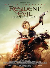 Resident Evil : Chapitre Final en streaming