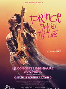 Prince - Sign O' the times (Pathé Live)