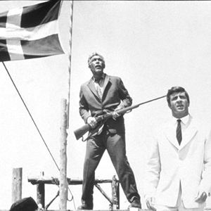 Zorba le Grec : Photo Alan Bates, Anthony Quinn, Michael Cacoyannis