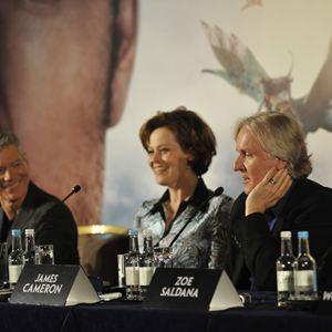 Avatar : Photo James Cameron, Sigourney Weaver, Stephen Lang