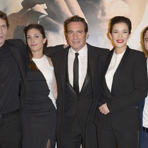La French : Photo promotionnelle Audrey Diwan, Cédric Jimenez, Guillaume Gouix, Jean Dujardin, Mélanie Doutey