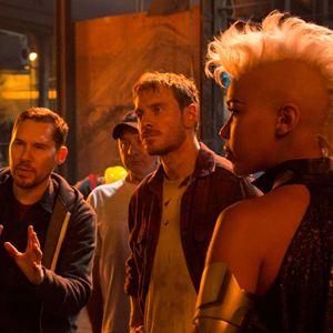 X-Men: Apocalypse : Photo Alexandra Shipp, Bryan Singer, Michael Fassbender