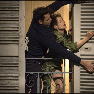 Photo Isabelle Huppert, Laurent Lafitte