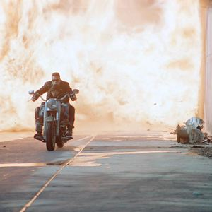 Terminator 2 : le Jugement Dernier : Photo Arnold Schwarzenegger, Edward Furlong