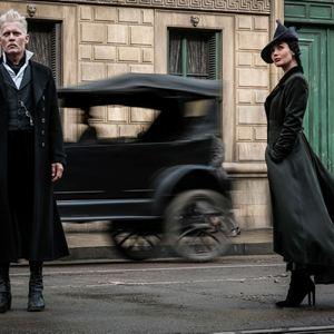 Les Animaux fantastiques : Les crimes de Grindelwald : Photo Johnny Depp, Poppy Corby-Tuech