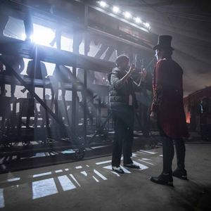 The Greatest Showman : Photo Hugh Jackman, Michael Gracey