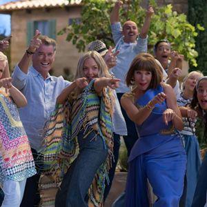 Mamma Mia! Here We Go Again : Photo Amanda Seyfried, Christine Baranski, Julie Walters, Pierce Brosnan