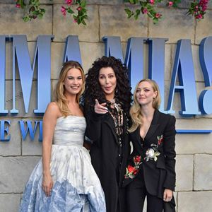 Mamma Mia! Here We Go Again : Photo promotionnelle Amanda Seyfried, Cher, Lily James