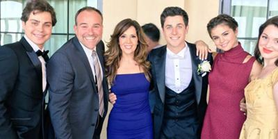 Les Sorciers de Waverly Place : les acteurs réunis pour le mariage de David Henrie