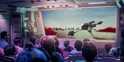 Star Tours à Disneyland : la planète Crait des Derniers Jedi comme si vous y étiez