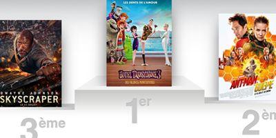 Box-office US : Hôtel Transylvanie 3 en tête, Ant-Man et Dwayne Johnson sur le podium