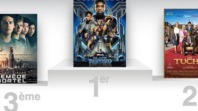 Box-office France : Black Panther marque sa griffe à la première place