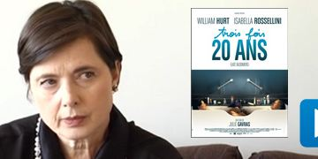 """3 fois 20 ans"" : Isabella Rossellini au micro ! [VIDEO]"