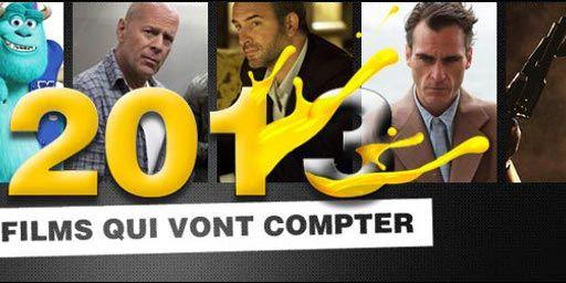 2013 : 10 films qui vont compter