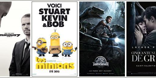 Les Minions, Jurassic World, Furious 7 : le box office record d'Universal en 2015