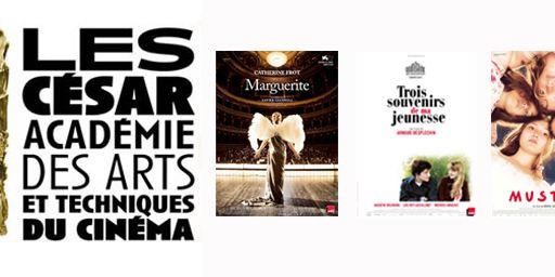 César 2016 : Marguerite, Trois souvenirs de ma jeunesse, Dheepan et Mustang en tête des nominations
