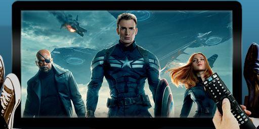"""Dimanche soir à la télé : on mate """"Captain America, le soldat de l'hiver"""" et """"Le Marquis"""""""