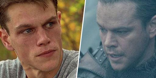 De Will Hunting à La Grande Muraille : les looks de Matt Damon