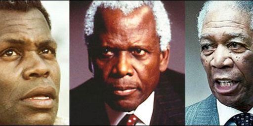 Nelson Mandela à l'écran, c'est Morgan Freeman, Danny Glover, Laurence Fishburne... [PHOTOS]