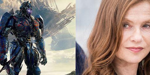 "Isabelle Huppert dans la saga Transformers ? Elle ""adorerait"" !"