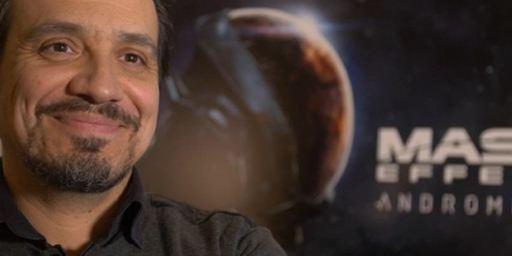 """Alexandre Astier prête sa voix dans le jeu """"Mass Effect Andromeda"""""""