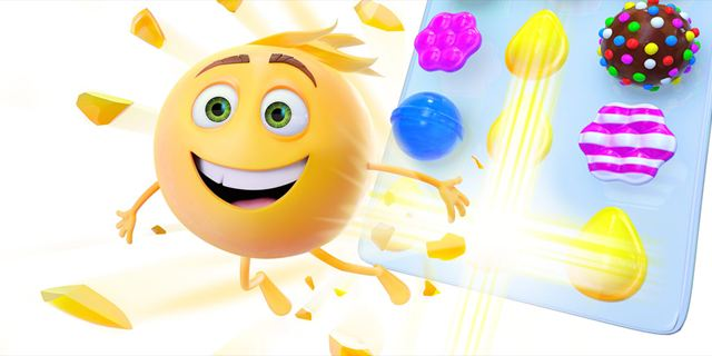 Le jeu Candy Crush saga a droit à sa scène dans Le monde secret des emojis