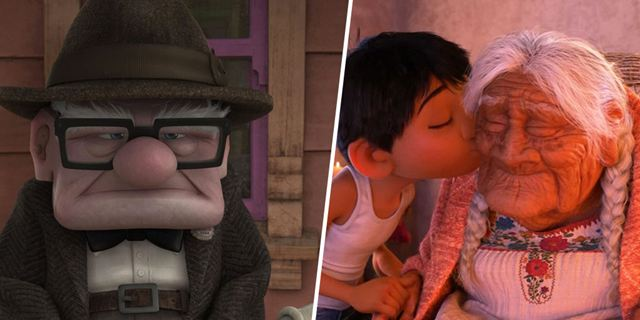 Coco, Carl Fredricksen... Quand Pixar honore les seniors !