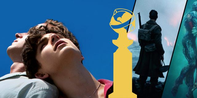 Golden Globes 2018 : Call Me By Your Name, The Shape of Water et Dunkerque mènent les nominations cinéma