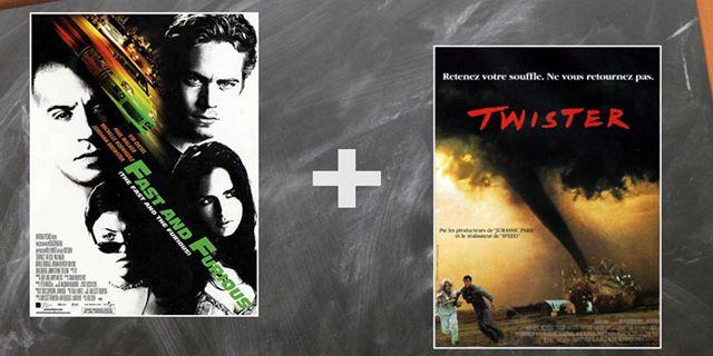 Testez-vous avec nos cinéquations : Fast & Furious + Twister = ?