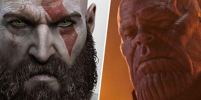 Avengers : un incroyable clin d'œil à Thanos caché dans God of War [SPOILERS]