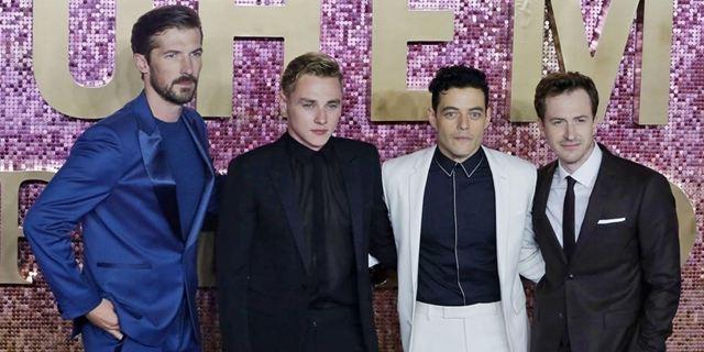 Bohemian Rhapsody : focus sur Joseph Mazzello, Gwilym Lee et Ben Hardy, membres du groupe Queen