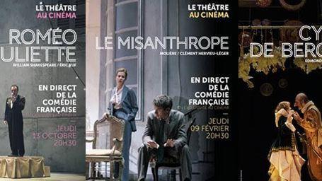 La Comédie-Française en direct au cinéma avec Roméo et Juliette, Le Misanthrope et Cyrano de Bergerac
