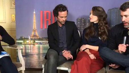 Iris : rencontre avec Romain Duris, Charlotte Le Bon et Jalil Lespert
