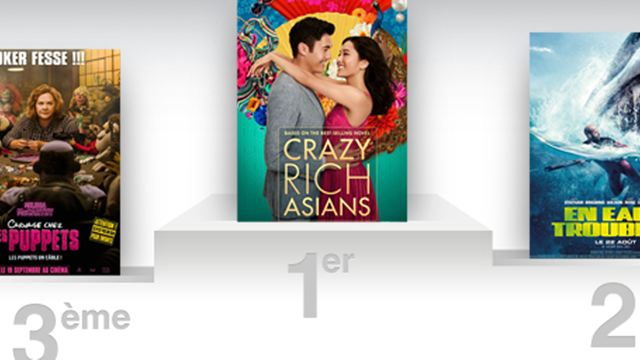 Box-office US : Crazy Rich Asians confirme avec un superbe deuxième week-end