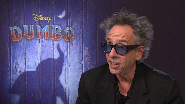 """""""Je me sens comme Dumbo"""" : rencontre avec Tim Burton et avec Eva Green"""