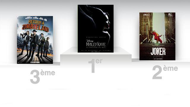 Box-office US : Maléfique détrône Joker, Zombieland 2 démarre fort