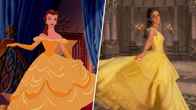 La Belle et la Bête : l'évolution des personnages du dessin animé à la version live