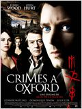 Crimes &#224; Oxford
